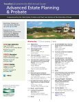 Advanced Estate Planning & Probate - Page 3