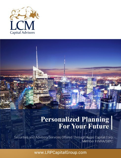 LCM Capital Advisors - Personalized Planning For Your Future