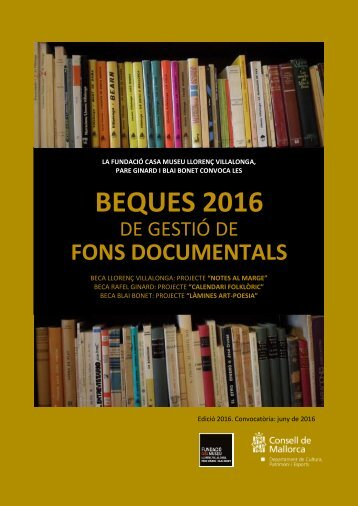 BEQUES 2016
