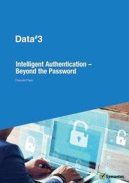 Intelligent Authentication – Beyond the Password