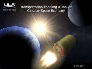 Transportation Enabling a Robust Cislunar Space Economy