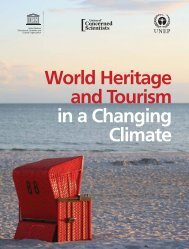 World Heritage and Tourism in a Changing Climate