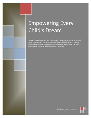 Empowering Every Child's Dream