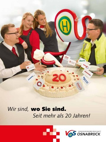 Jubiläumsbroschüre VOS 2016