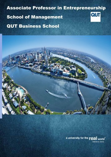 Associate Professor in Entrepreneurship School of Management QUT Business School