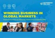 WINNING BUSINESS IN GLOBAL MARKETS