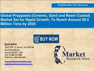 Proppants Market