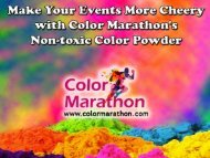 Celebrate Your Event with Holi Color Powder