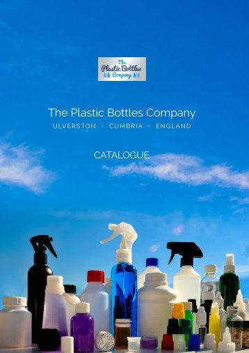 Plastic Bottles Company Catalogue