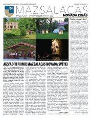 Mazsalacas novada ziņas 2016/06