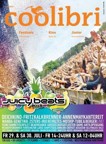 Juli 2016 - coolibri Ruhrgebiet