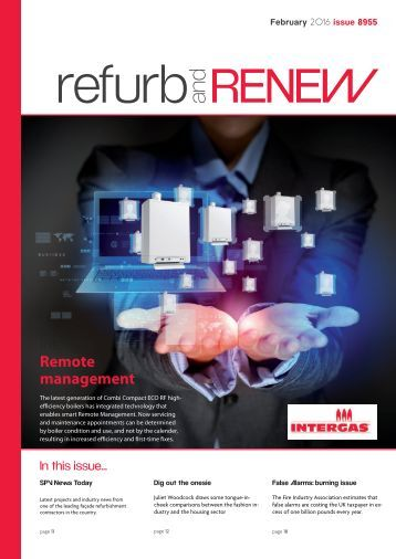 February Refurb and Renew magazine