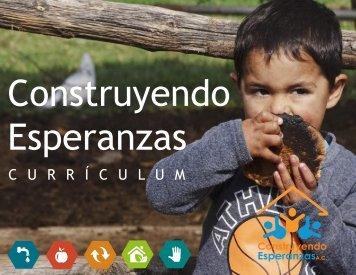 Currículum Construyendo Esperanzas