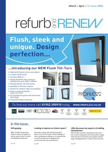 Refurb and Renew March 2016