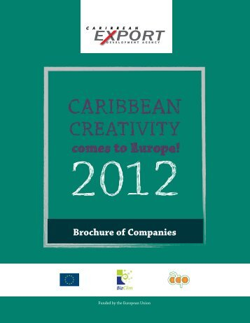 Brochure of Companies - Caribbean Export Development Agency