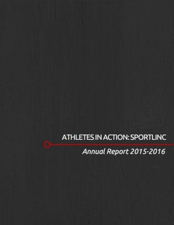 SportLinc Annual Report