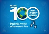 Brand value increases to $3.4 trillion despite disruptive global forces