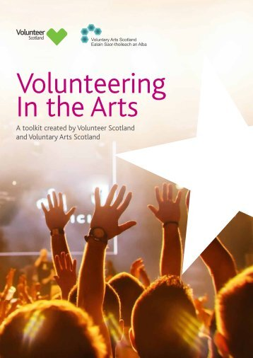 Volunteering In the Arts