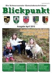 Blickpunkt 1. Ausgabe 2015