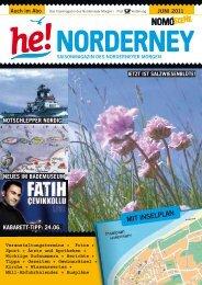 He! Norderney - Nomo Szene - Juni 2011