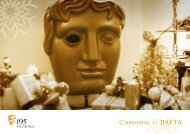 Christmas at BAFTA