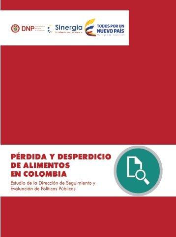 PÉRDIDA Y DESPERDICIO DE ALIMENTOS EN COLOMBIA