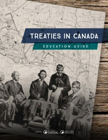 TREATIES IN CANADA