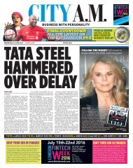 TATA STEEL HAMMERED OVER DELAY