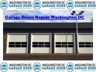 Garage Doors Repair Washington DC