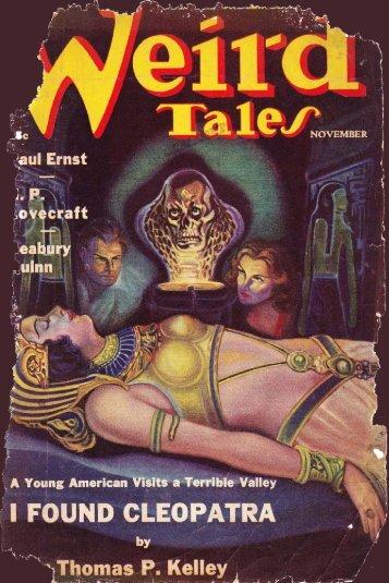 Weird Tales Magazine (11-1938)