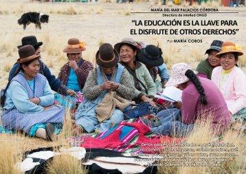 """""""LA EDUCACIÓN ES LA LLAVE PARA EL DISFRUTE DE OTROS DERECHOS"""""""