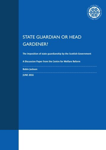 STATE GUARDIAN OR HEAD GARDENER?