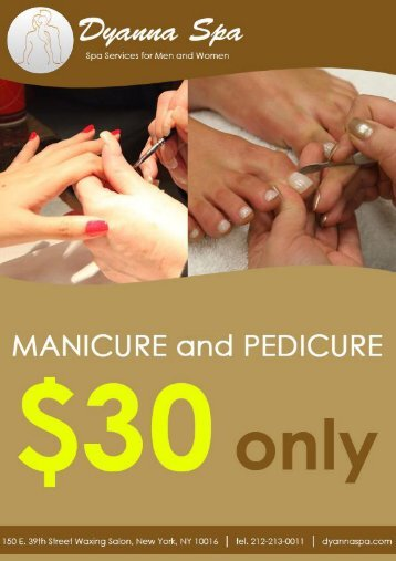 Best Spa Manicures in Manhattan NY