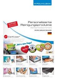 Personalisierte Reinigungsprodukte als Werbemittel