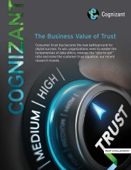 The Business Value of Trust