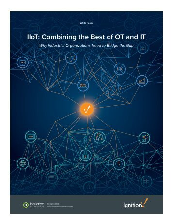 IIoT Combining the Best of OT and IT