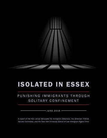 ISOLATED IN ESSEX