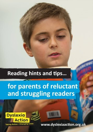 for parents of reluctant and struggling readers