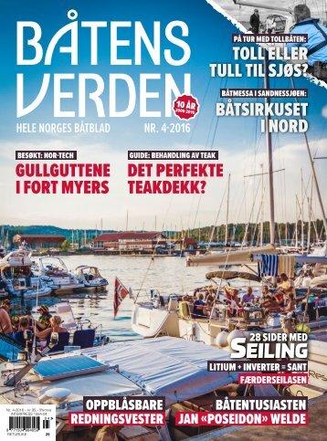 Prøve –Båtens Verden nr. 4-2016