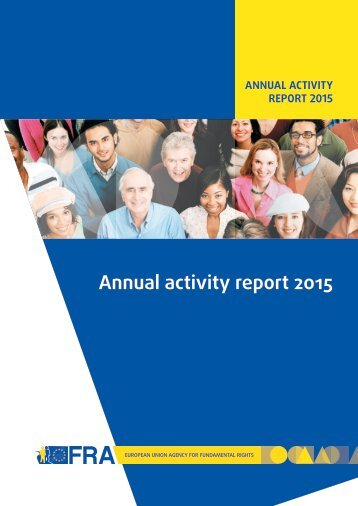 Annual activity report 2015
