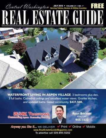 Central Washington Real Estate Guide July 16