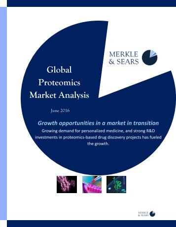 Proteomics Market Analysis