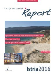 Victor Investment Report - Istria 2016 - Englisch
