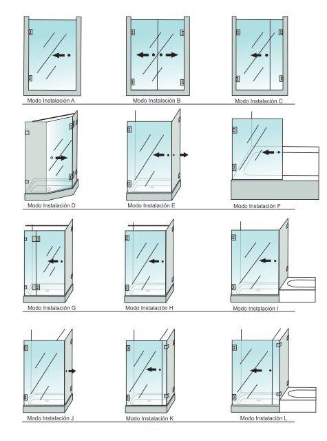 Catálogo de Bisagras y Conectores Para Baños