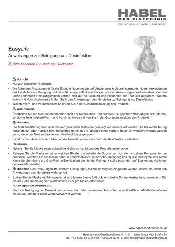 EasyLife - HABEL Medizintechnik