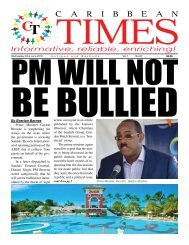 Caribbean Times 35th Issue - Wednesday 22nd June 2016