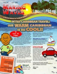 Hi kids, it's Ziggy! IN THIS ISSUE - Caribbean Tourism Organization