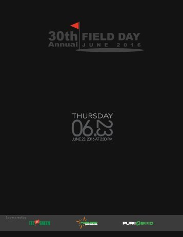 2016 Field Day Book