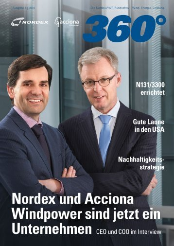 Nordex 360 Grad 1/2016