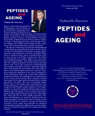 Peptides and Ageing - Neuroendocrinology Letters